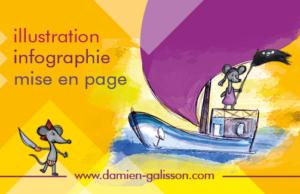 Damien Galisson, Infographiste