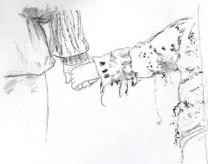 Étude des mains