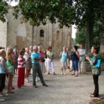 Atemporelle - visite guidée, regard d'historien pour le grand public