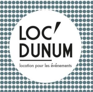 Logo Loc'dunum - location pour les événements.