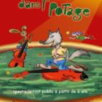 Affiche jeunesse : Un loup dans l'potage