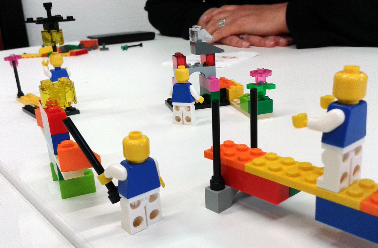 Découverte de la méthode Lego serious play
